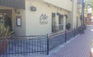 restaurant fencing